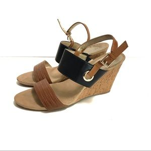 Anne Klein sandal wedges
